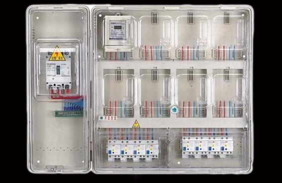 电表箱→一户一表